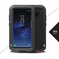 For Samsung Galaxy S8 5 8 G9500 LOVE MEI Original Shockproof Dirtproof Aluminum Metal Case For