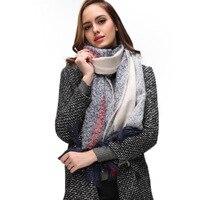 Winter Warm Cashmere Scarf Women's Long Plaid Chunky Oversized Big Warm Scarf Tartan Wrap Plaid Shawl AA10119