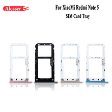 Alesser For XiaoMi Redmi Note 5 SIM Card Holder Assembly Repair Parts For XiaoMi