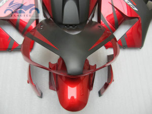 Image 3 - ABS plastic Injection fairing kit fit for Honda CBR600RR 03 04 CBR 600 RR 2003 2004 aftermarket  fairing kits red black NY04