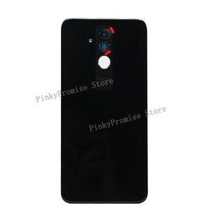 "Image 2 - Original For 6.3"" Huawei Mate 20 Lite Glass Back Battery Cover Case Rear+Glass Lens For Mate 20 Lite Rear Door"
