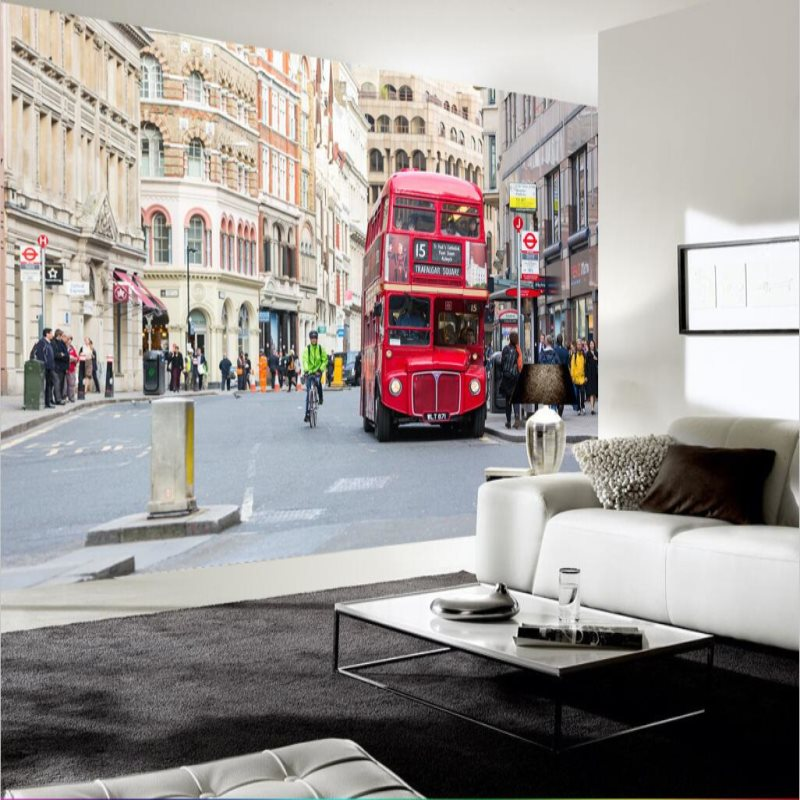 Custom 3D Photo Wallpaper Home Decor Wall Painting London