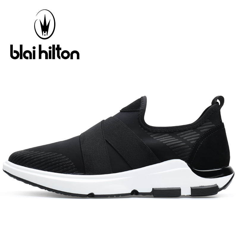 Blaibilton Shallow Men's Sneakers Breathable Mesh Sport Shoes For Men Summer Light Weight Running Shoes Man Brand Run Shoes apple summer new arrival men s light mesh sports running shoes breathable fly knit leisure comfortable slip on sneakers ap9001