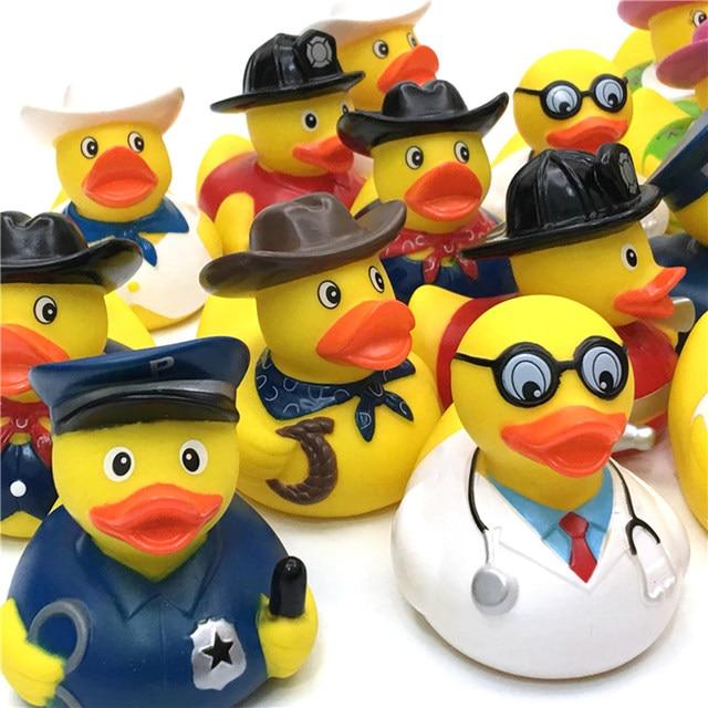 Online Shop 1 Pcs Kids Plastic Bath Toys Duck Floating Yellow ...