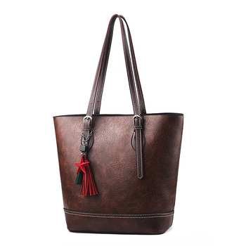Women Tote Handbag Fashion Large Shoulder Bag Women Purse Ladies Totes Designer Shopper Bag Tassel