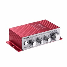 Music Hall Hi-Fi Stereo Audio Amplifier Mini 2.0 Channel Power Amp USB Charger For Car/Home