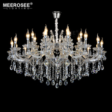 Luxurious Crystal Chandelier Lighting Fixture Lamp for Foyer Restaurant Project Maria Theresa lampe lampadari