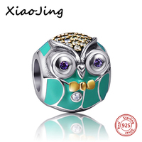 SG 100 New Real 925 Sterling Silver Skull Jewelry Beads Fit Original Pandora Bracelet Necklace Authentic