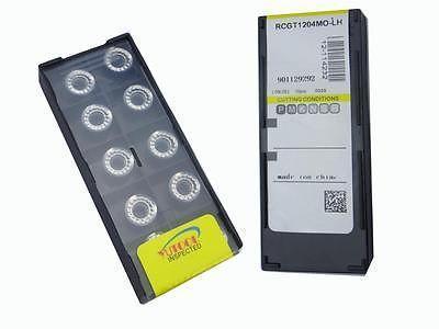 Купить с кэшбэком PROMOTION New 50PCS Round RCGT1204 MO ALuminium Carbide Insert Milling cutter
