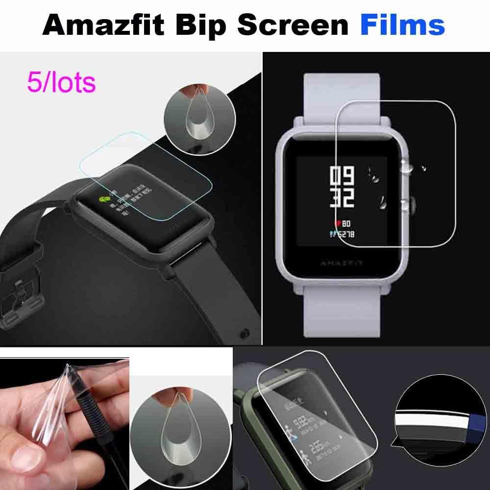 For Xiaomi Huami Amazfit Bip Film Screen Protector Bracelet Protector Pantalla Smartwatch Films