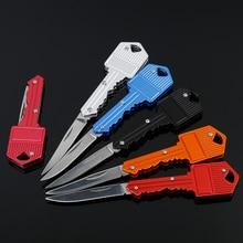 Многофункциональный брелок для ключей нож для открывания букв нож складной портативный мини-нож в виде ключа креативный подарок