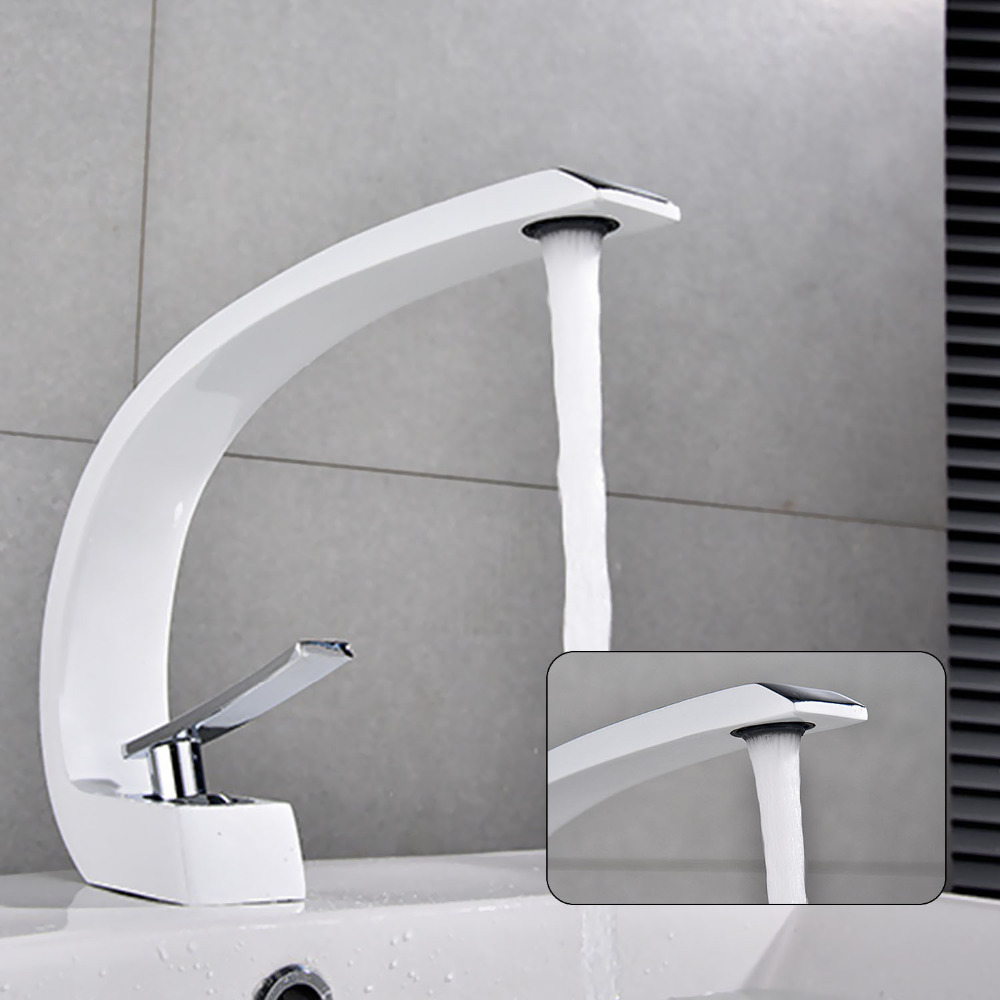 Home Sink Washbasin Faucet Bathroom Water Tap Hot Cold Water Tap Single Lever Mixer Deck Mount Waterfall Bathroom FaucetHome Sink Washbasin Faucet Bathroom Water Tap Hot Cold Water Tap Single Lever Mixer Deck Mount Waterfall Bathroom Faucet