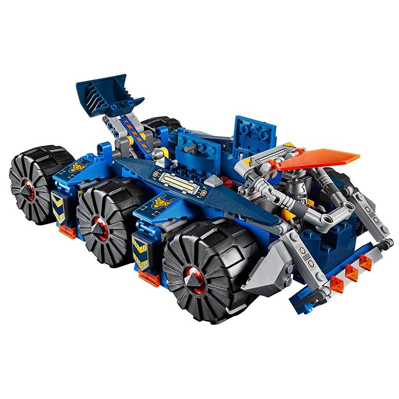 14022 LEPIN Nexo Knights Axl Axls Tower Carrier Model Building Blocks Enlighten DIY Figure Toys For Children Compatible Legoe