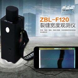 ZBL-F120 Crack Breedte Tester Meetinstrument Bruggen Tunnels Muren Beton Trottoirs En Metalen Oppervlakken Nominale Energie