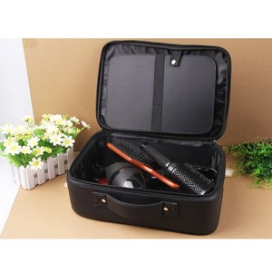 Image 3 - Professional Top Grade PU Leather Barber Hairdressing Electric Hair scissors bag Hair Clipper tool case Can Hold Hair Dryer bags