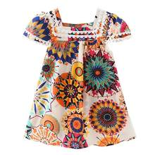 eba13e42f (Ship from US) Baby Newborn Baby Clothes Kids Girls Clothes Sleeveless  Dress Ruffle Sunflowe Floral Princess Dresses Outfits #40