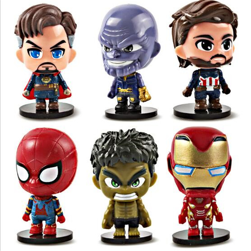 1pc-marvel-font-b-avengers-b-font-figures-toys-spiderman-iron-man-captain-america-hulk-thanos-action-figures-model-toys-for-car-accessories