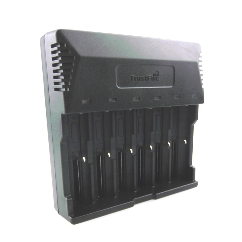 купить TrustFire TR-012 6-Slots Lithium Battery Ni-MH Battery Intelligent Universal Charger недорого