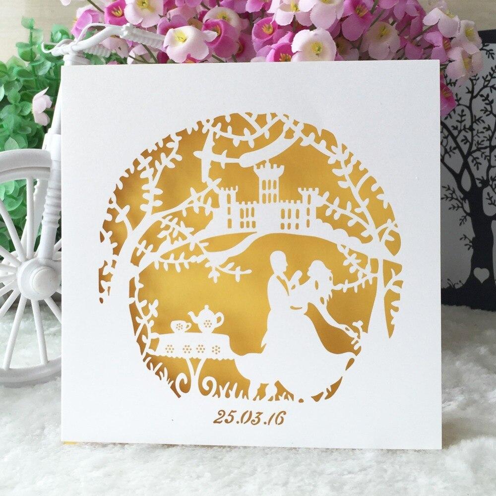 50pcs/lot hot sale chic fairy tale wedding party decoration paper ...
