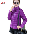 Autumn Winter down women  slim short  cotton-padded Hooded female wadded  outerwear winter coat women YL1178