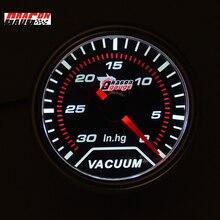 Дракон манометр универсальный 52 мм авто турбин высокое качество автомобиля турбо вакуумный Boost gague турбина метр белая подсветка