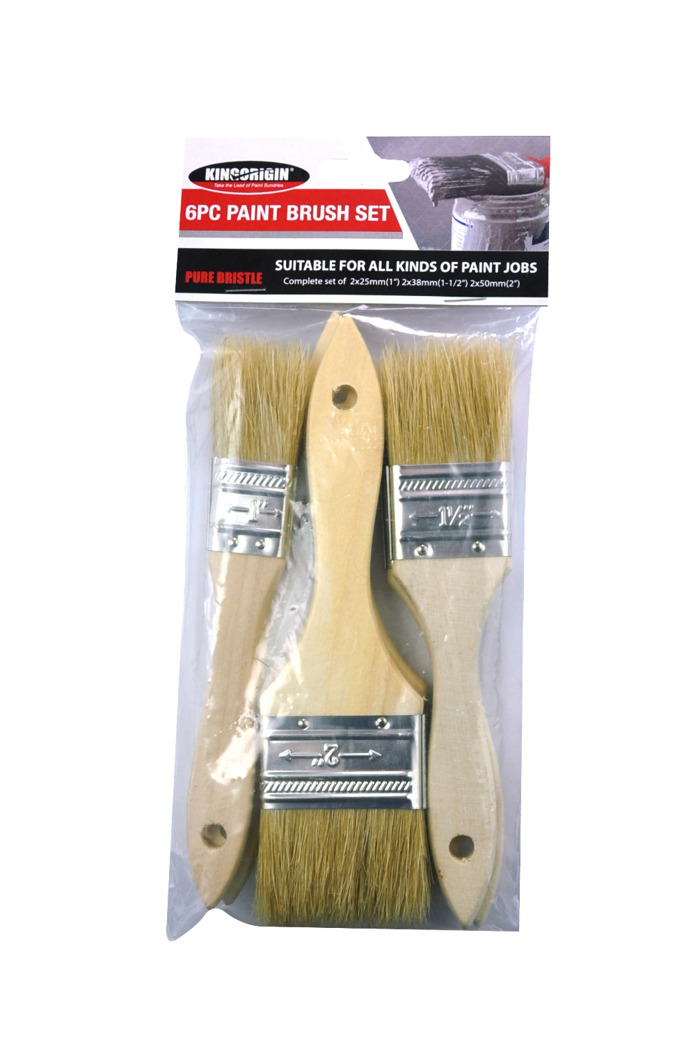 how to clean natural bristle paint brush