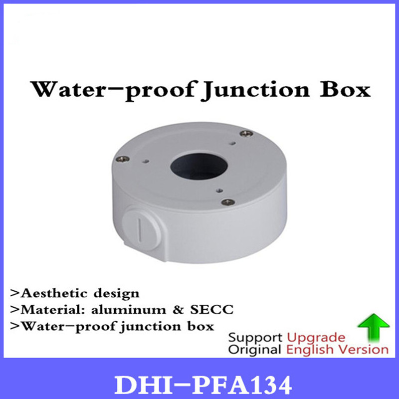 цена на Original DH Pfa134 Junction Box cctv Bracket for ip camera DH-pfa134 camera mount support IPC-HFW1320S-W & IPC-HFW2325S-W