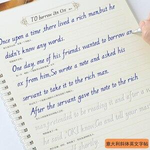 Image 1 - جديد وصول 3 قطعة/المجموعة الإنجليزية الخط الدفتر للأطفال الأطفال الكتابة جميلة الإنجليزية بسرعة تمارين الخط الكتب