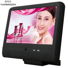 Car Headrest DVD Player Android Monitor With 10.1 Inch Multi Touch Screen 4.2