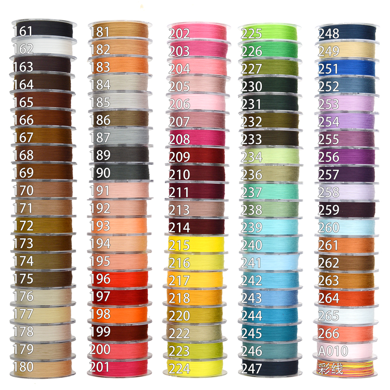 0 3mm cotton tread macrame cord tassel making material Jewelry making cord No 161 199 Colour in Jewelry Findings Components from Jewelry Accessories
