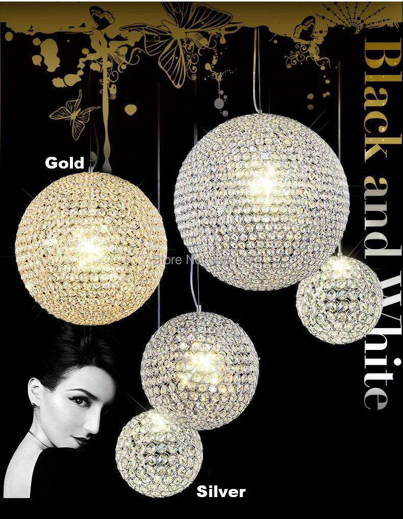 Phube Lighting Modern LED Crystal Pendant Gold/Chrome Pendant Light Crystal Ball Pendant Light Lustre Free Shipping мойка высокого давления sturm pw9219
