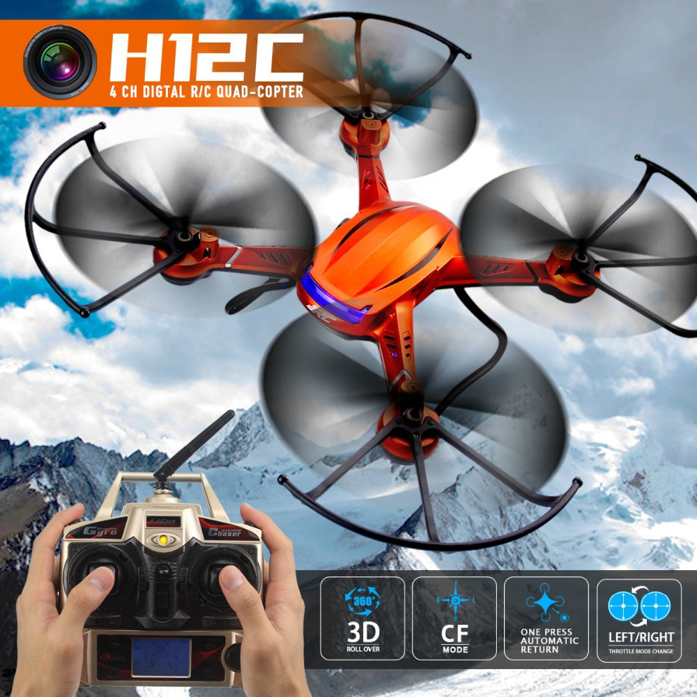 JJRC H12C RC helicopter font b Drone b font with 5 0MP Camera 2 4G 4CH