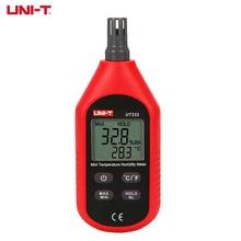 UNI T Elektronische Mini Temperatur Feuchtigkeit Meter UT333 Haus Indoor Outdoor Thermometer Hygrometer Digitale LCD Display