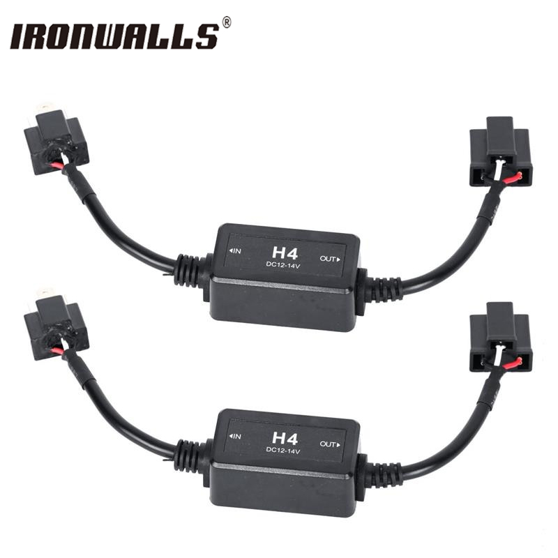 Ironwalls H4/H7/H8/H11/H13/9005/9006 Canbus Wiring Harness ... on