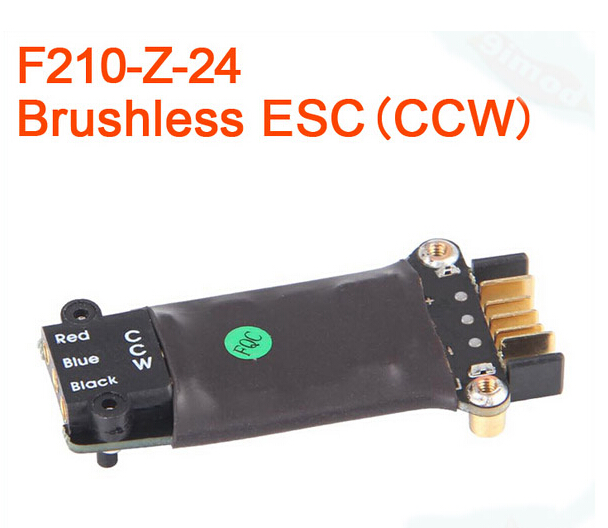 Walkera F210 RC Helicopters Quadcopter spare parts Brushless ESC F210-Z-23 CW / F210-Z-24 CCW F17446/7Walkera F210 RC Helicopters Quadcopter spare parts Brushless ESC F210-Z-23 CW / F210-Z-24 CCW F17446/7