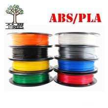 DIY 3d Принтер Нити больше цветов дополнительно PLA/ABS 1,75 мм MakerBot RepRap пластик Резина Расходные Материал 0,30/ кг
