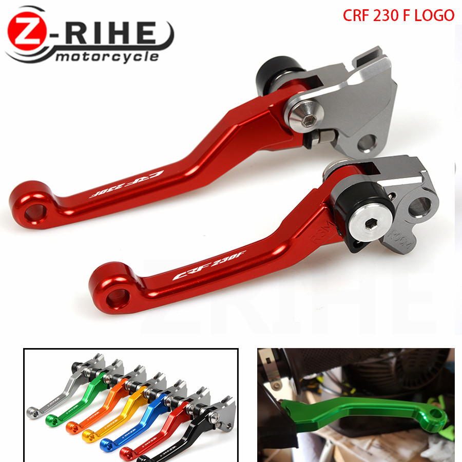 Motocross Dirt Bike Brake Clutch Lever CRF230 F Pit Bike Brake Clutch Handle For Honda CRF 230 F 2003-2009 2004 2005 2006 half placket pearl beading tie cuff dress