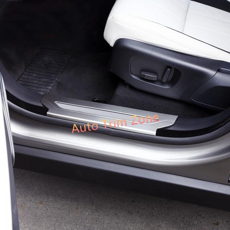 For Land Rover Range Rover VELAR 2018 Rear Bumper Plate Sill Cover Trim Steel
