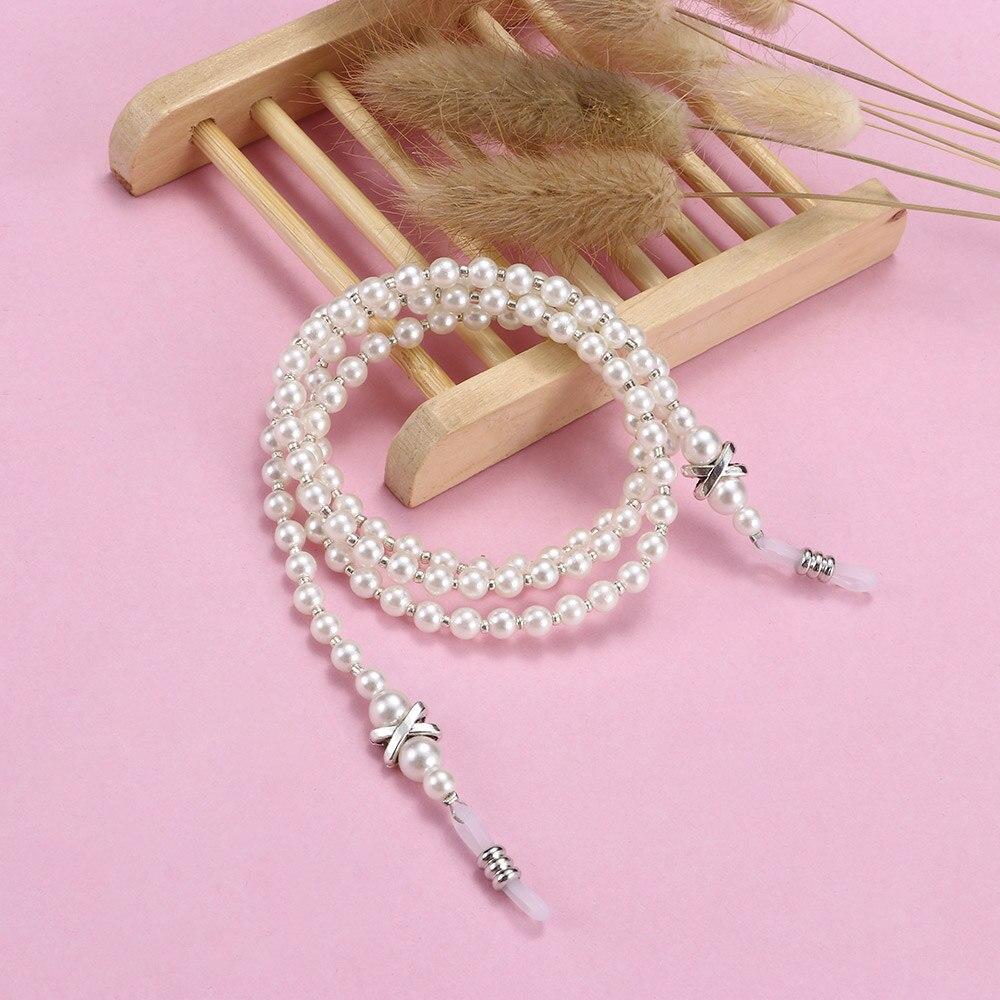 Mode Frauen Handmade Fashion Imitation Perle Seil Perlen Brillen Eyewears Gurt Seil Lesebrille Kette Schnur