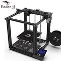 Высокоточный 3D принтер Ender-5 большой размер Cmagnetic Встроенная пластина, отключение питания, легко biuld Creality + 3D нити + Горячая кровать + SD