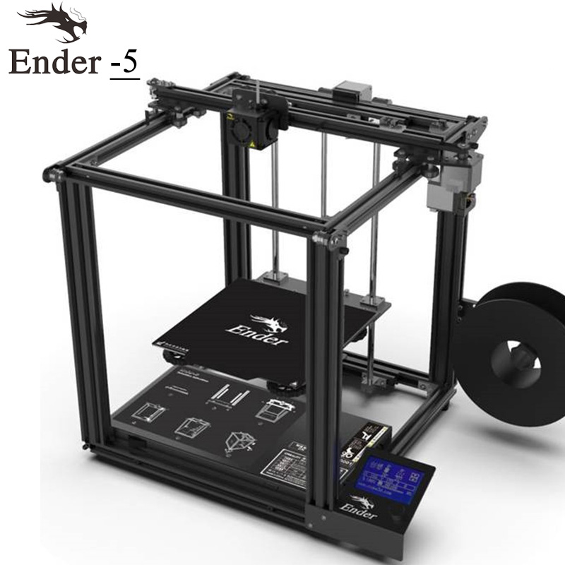 Power Off Lebenslauf Creality 3d Drucker Creality Ender-5 Mit Landy Stabile Power Cmagnetic Bauen Platte