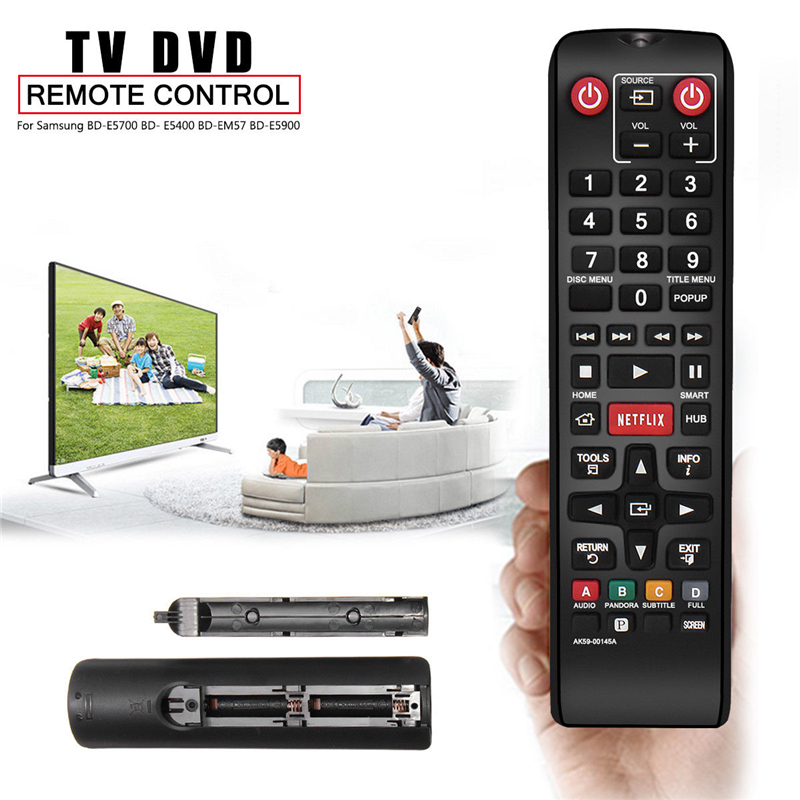 Smart TV Replacement Remote Control AK59-00145A for Samsung Blu-Ray DVD  Player BD-EM59 BD-ES6000 BD-E5300 BD-E5400
