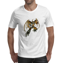 все цены на Unicron The Lord Of The Universe T Shirt Cartoon Movie Hip Hop Funny Style T-shirt Print Rock Punk Unisex Tee онлайн