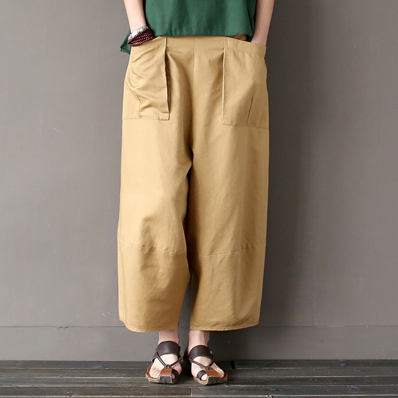 Popular Khaki Linen Pants-Buy Cheap Khaki Linen Pants lots from ...