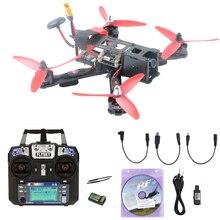 Kecepatan tinggi 220mm 220X QAV-R QAV220 Mini FPV RC Quadcopter Drone dengan F4 Balap RC Simulator Penerbangan Controller Hadir