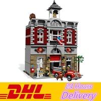 Lepin 15004 2313Pcs City Fire Brigade Model Building Blocks Bricks Kits Toys Compatible 10197