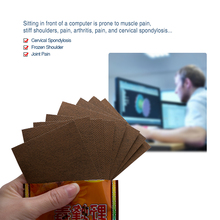 8Pcs Capsicum Plaster Hot Back Pain Neck Pain Back Pain Muscle Pain Relief Patch Health Care Body Massage C1449