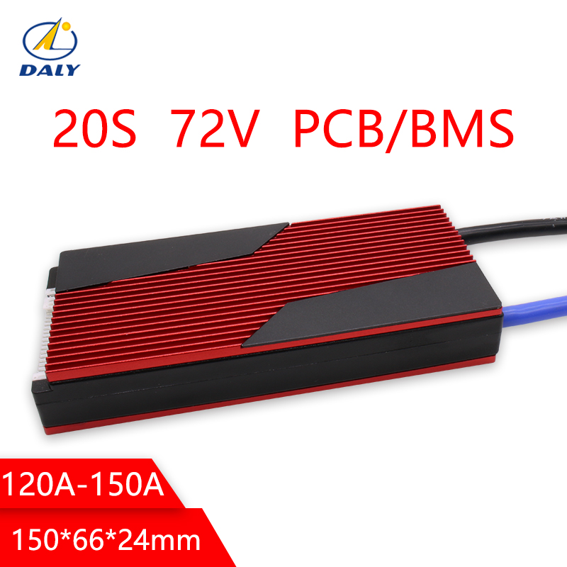 Daly 20S 72V Lili ion BMS 120A 150A Big Current for 18650 Lithium Ion Battery Pack for lithium battery