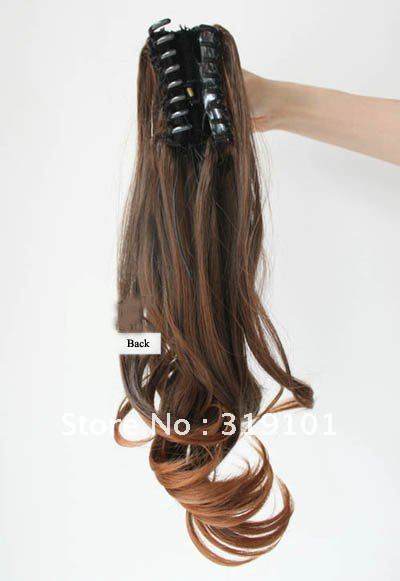 Free shipping high quality synthetic hair extensionladies curl free shipping high quality synthetic hair extensionladies curl clip in ponytail hairpieces 1pc black light browndark brown on aliexpress alibaba pmusecretfo Gallery