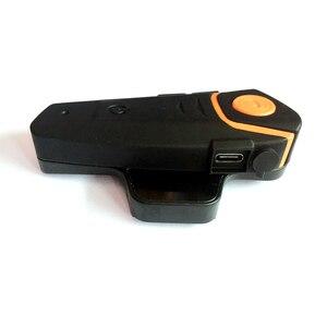 Image 4 - Impermeabile BT S2 Multi BT Interphone 1000M Bluetooth Del Casco del Motociclo Citofono Intercomunicador Moto Interfones Auricolare FM MP3